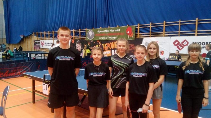 Tenisiści z LKS Spółdzielca Kobylin
