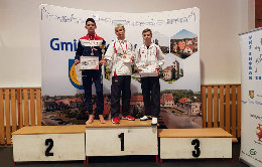 Karatecy z UKS Ukemi na podium