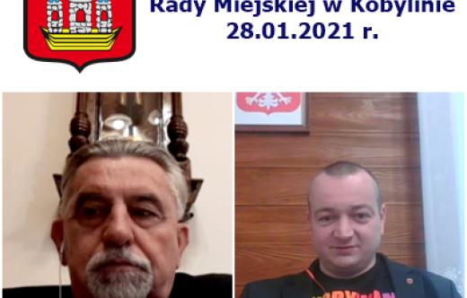 Przewodniczący RM P. Chlebowski i Burmistrz T. Lesiński