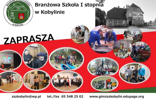 oferta Branżowej Szkoły I stopnia w Kobylinie