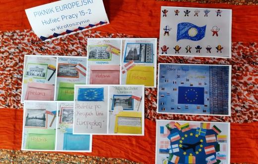 Prace konkursowe Regionalnego Pikniku Europejskiego