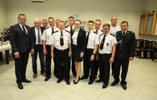 uczestnicy zebranie OSP Wyganów