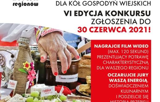 Plakat zawierający informację o konkursie Bitwa Regionów