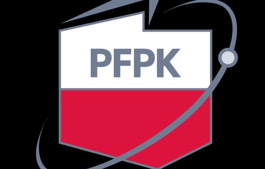 Logo Polskiej Fundacji Przemysły Kosmicznego